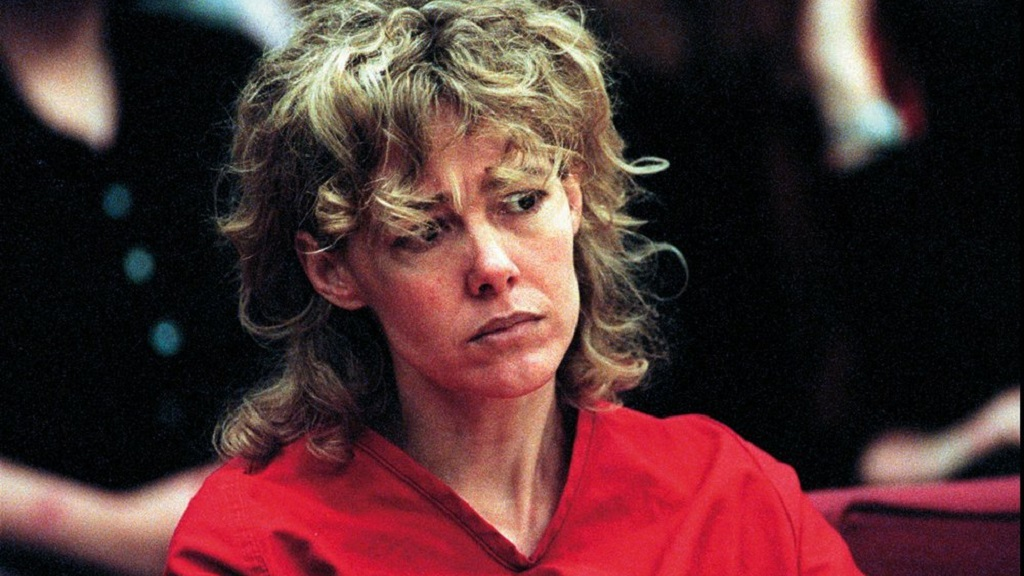 FILE - In this Feb. 6, 1998, file photo, Mary Kay Letourneau listens to testimony during a court hearing in Seattle Letourneau, who married her former sixth-grade student after she was convicted for raping him, has died. She was 58. (Alan Berner/The Seattle Times via AP, Pool, File)