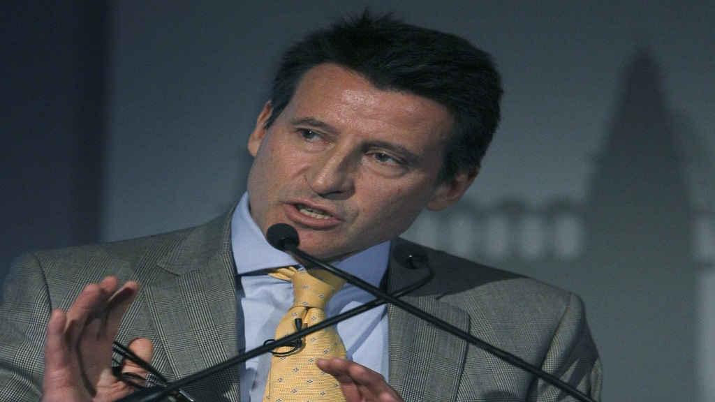 World Athletics President Sebastian Coe.