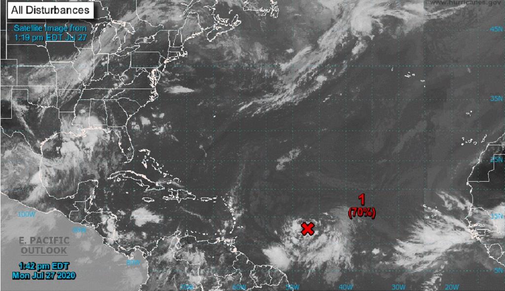 Satellite image via the National Hurricane Center, Miami