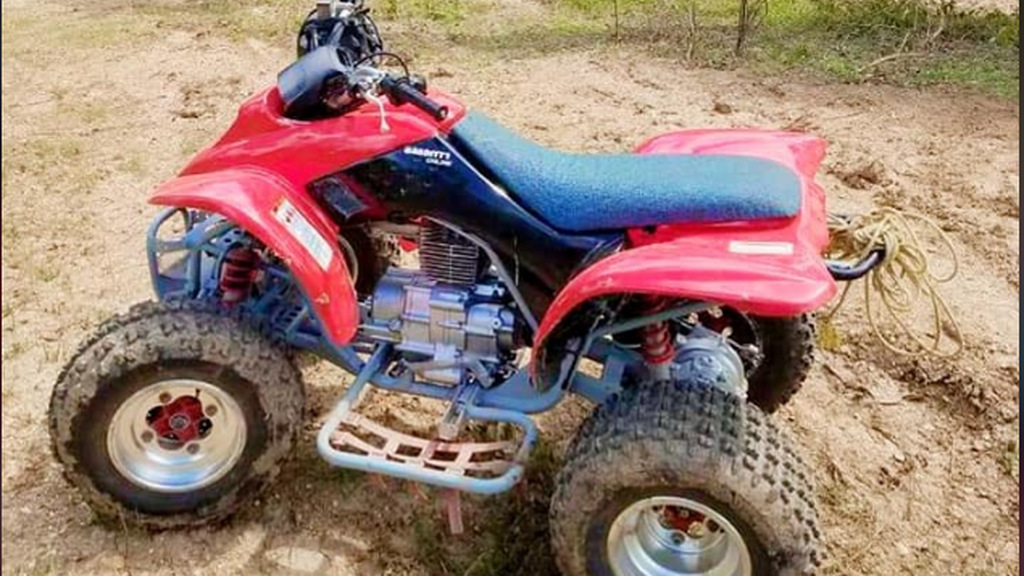 You could go ATV driving at Team 99 Vybez Funpark in  Mayaro