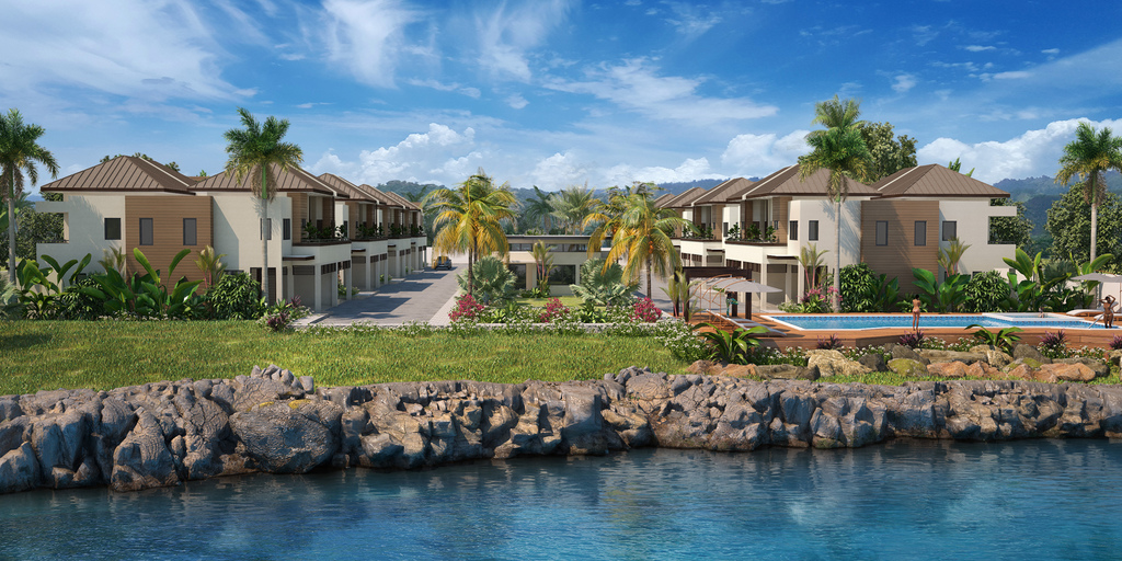 The panoramic ocean view luxury development located in St Ann, is scheduled for a 2021 completion date.