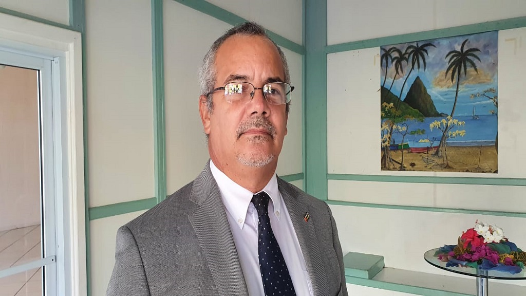Cuban Ambassador to Saint Lucia, His Excellency Alejandro Simancas Martin