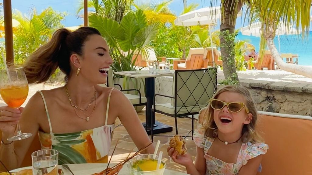 Elizabeth Chambers and her daughter, Harper at Tillies. Image credit: Elizabeth Chambers via Forbes