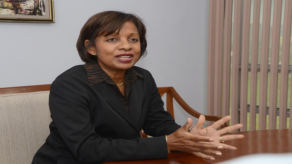 Audrey Richards, Project Coordinator for the Jamaica Venture Capital Programme, which is being spearheaded by the Development Bank of Jamaica. (Photo via Jamaica Information Service)
