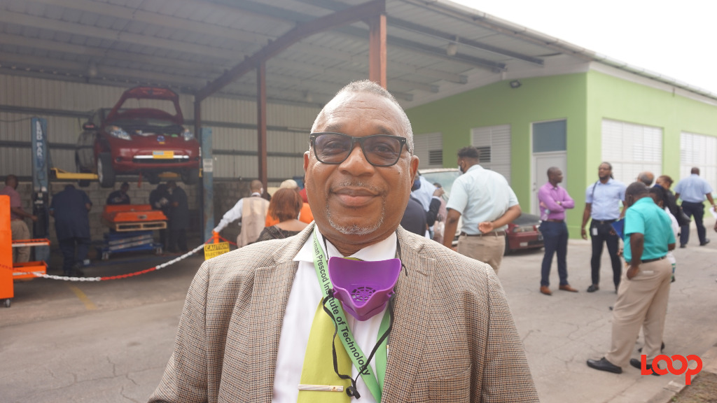 Principal of the Samuel Jackman Prescod Institute of Technology, Ian Drakes.