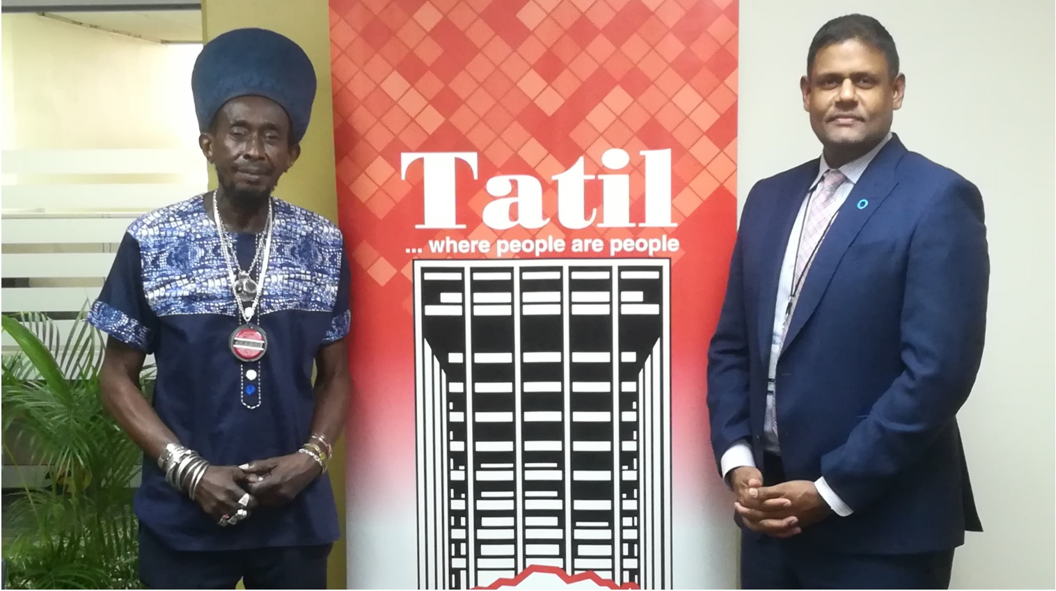 Musa M. Ibrahim - Managing Director, TATIL (right) and