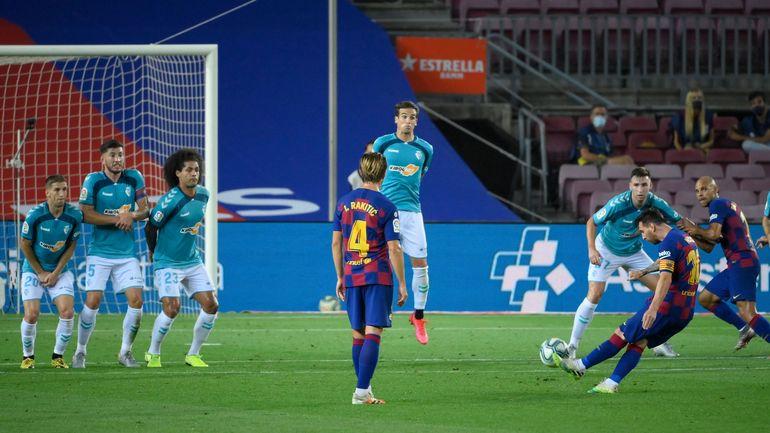 """Messi, le record de """"Pichichi"""" de Zarra dans le viseur - © LLUIS GENE - AFP"""