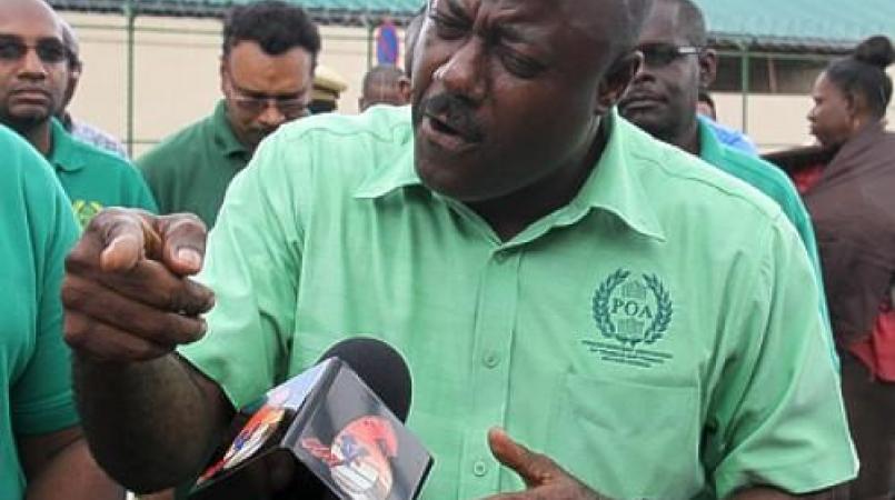 President of the Prison Officers' Association Ceron Richards