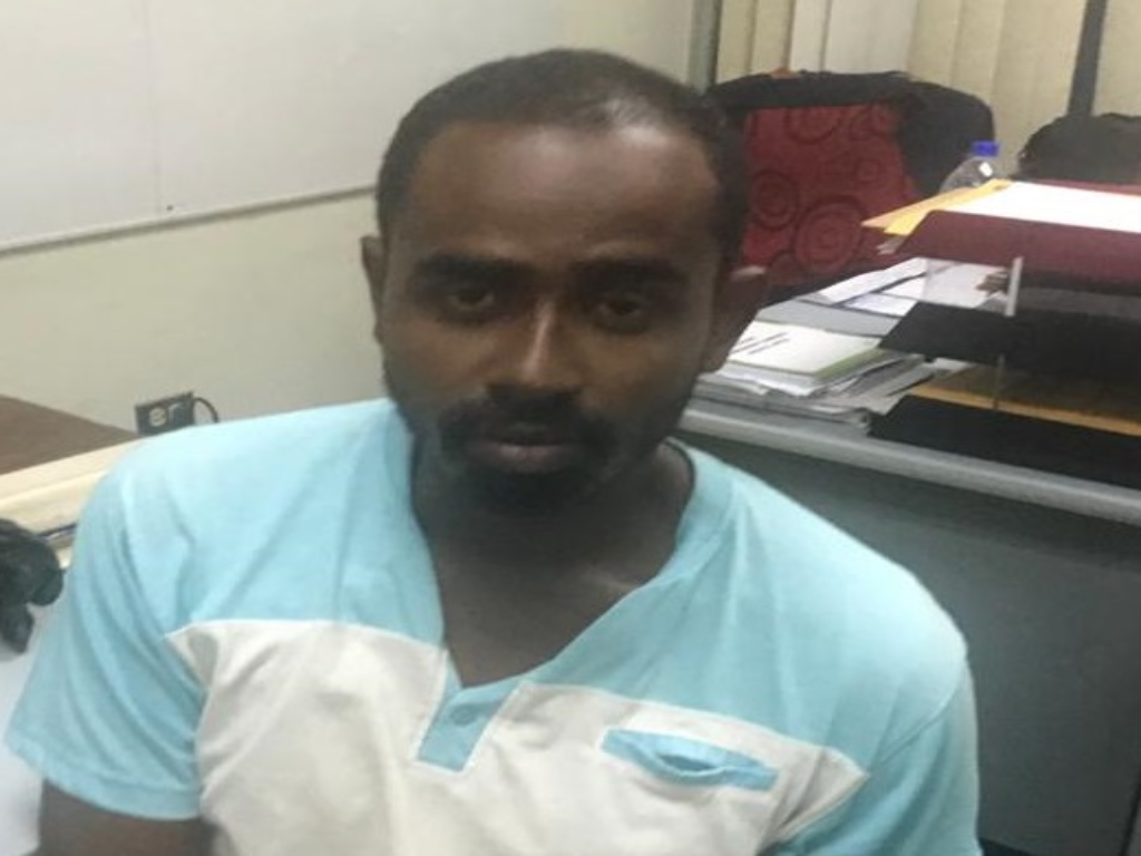 Pictured: Nicholas Rameshwar. Photo courtesy the Trinidad and Tobago Police Service.