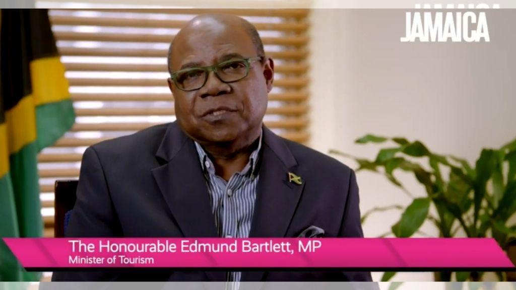 Jamaica's Minister of Tourism, Edmund Bartlett