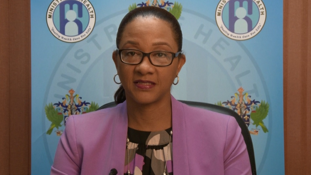 St Lucia's Chief Medical Officer Dr Sharon Belmar-George