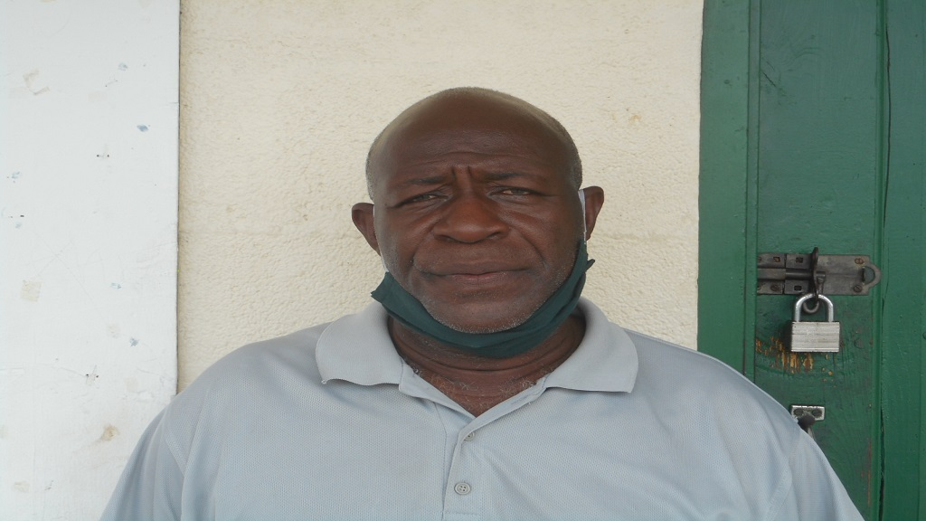 Philip Jn Baptiste, President of the Southern Minibus Drivers Association