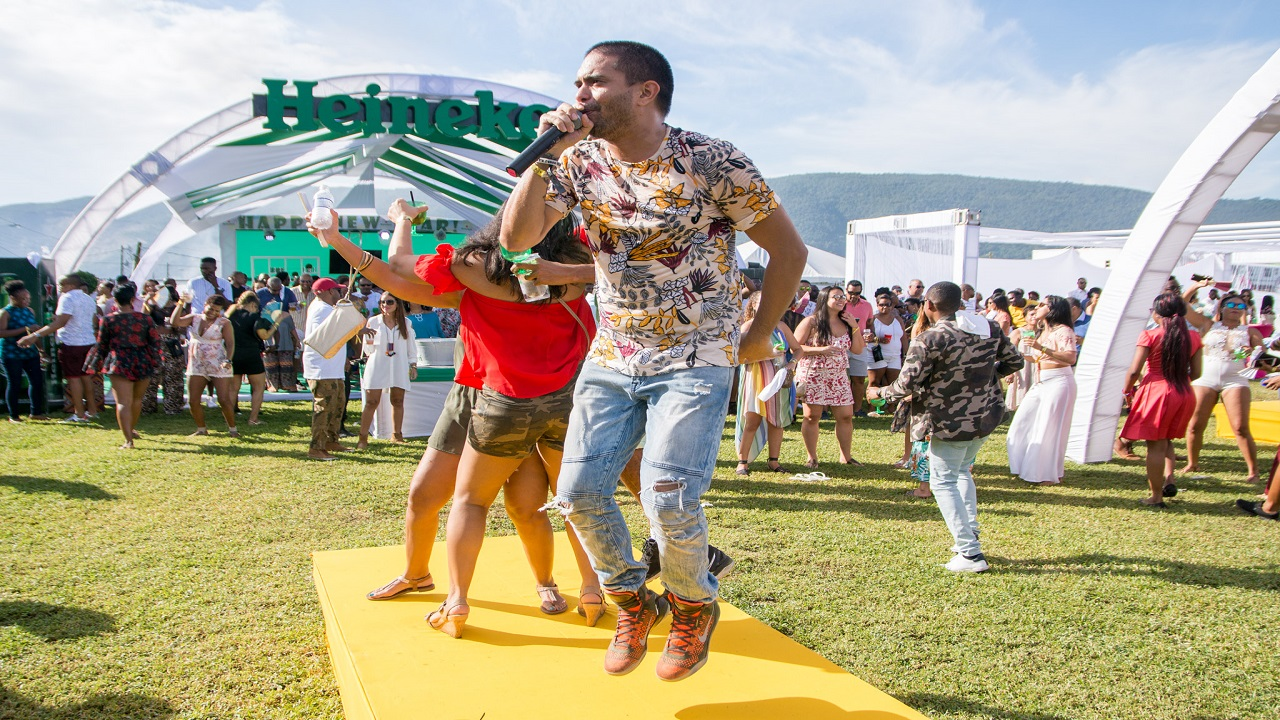 Sunrise Breakfast Party held at Mountain Lodge on New Year's Day was a hit in Jamaica (FILE)