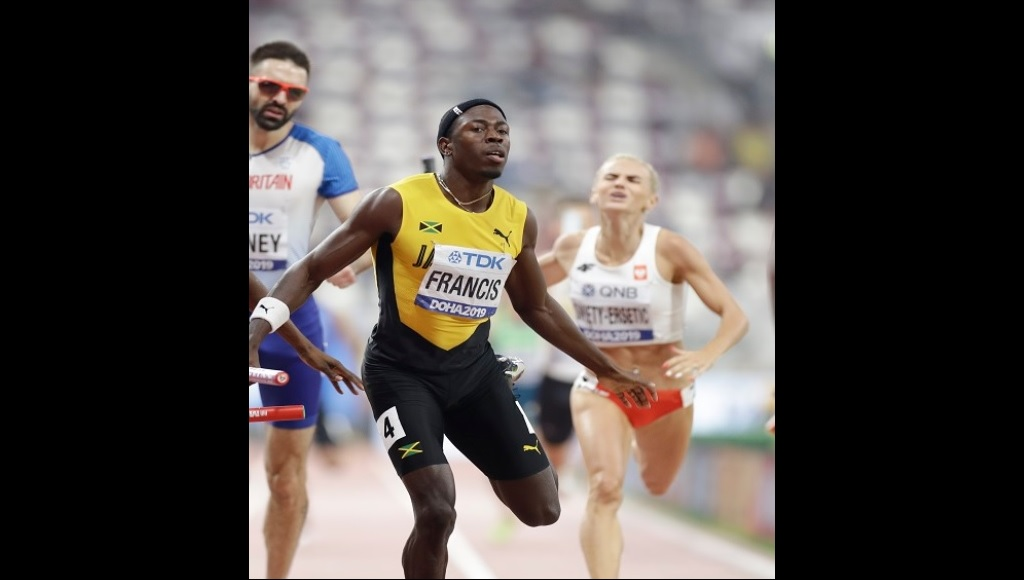 Two-time Jamaican 400m champion Javon Francis.