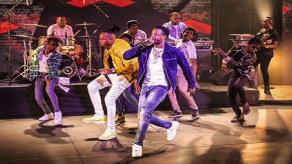 Ding Dong and his Ravers Clavers dance crew delivered an entertaining set for viewers of the online show, 'A Taste Of Reggae Sumfest'. (Photo: Ding Dong Instagram)