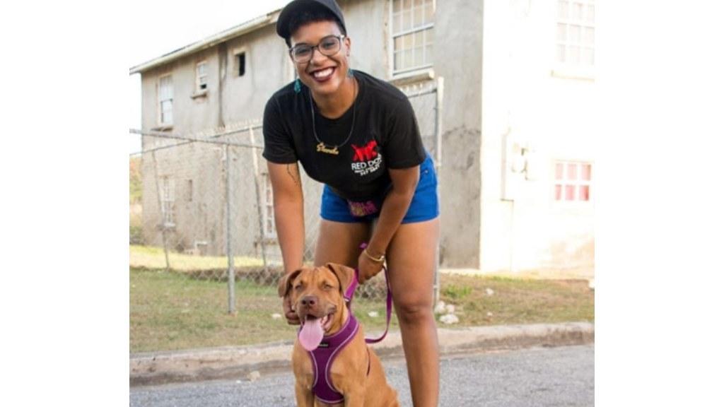 Shanika Thompson of Red Dog training and care services (Photo courtesy of Levi King)