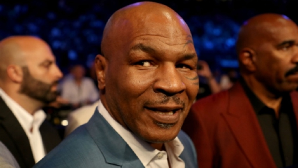 Boxing great Mike Tyson.