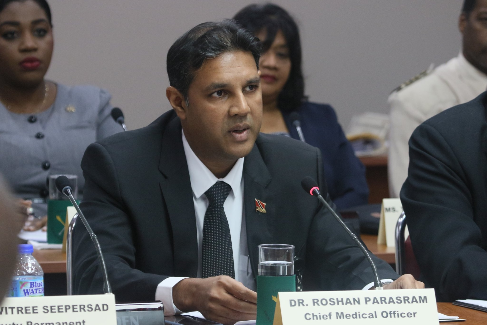 File photo: Chief Medical Officer, Dr Roshan Parasram