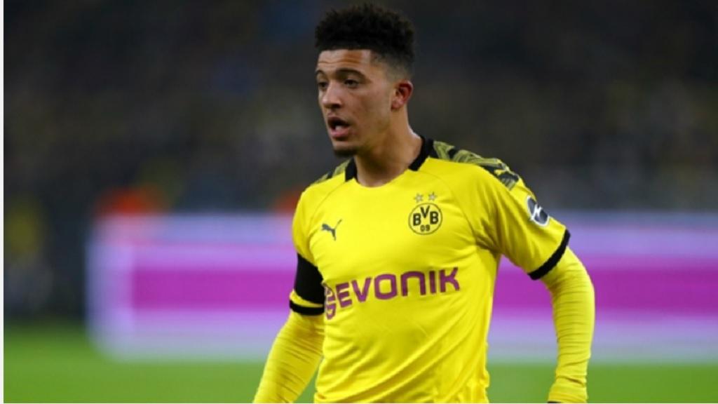 Borussia Dortmund forward Jadon Sancho.