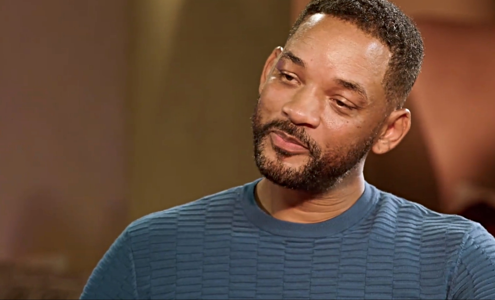 Will Smith at The Red Table Talk speaking to his wife Jada Pinkett Smith