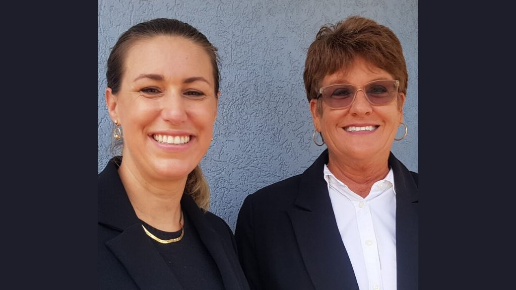 (L-R) Lawyer, Kate McClymont from Broadhurst LLC and Shirley Roulstone of CPR Cayman