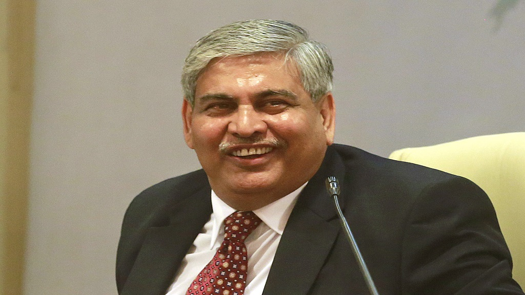 Shashank Manohar. (AP Photo/Rafiq Maqbool.).
