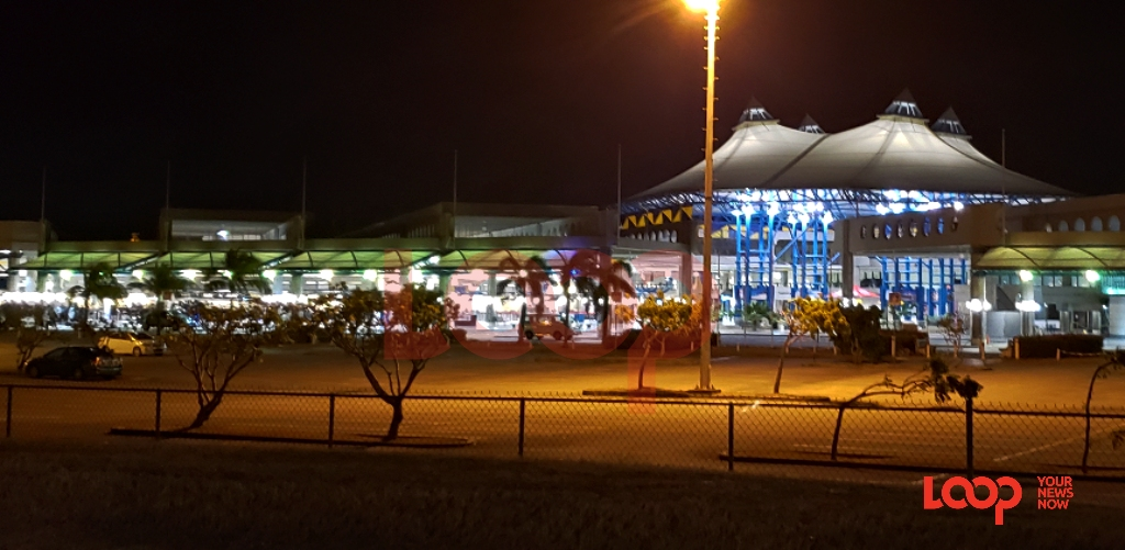 Grantley Adams International Airport at night. (FILE)