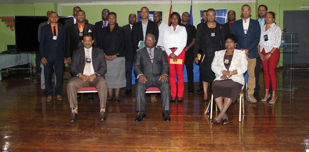 Twenty-three officers awarded for solving seven murders.