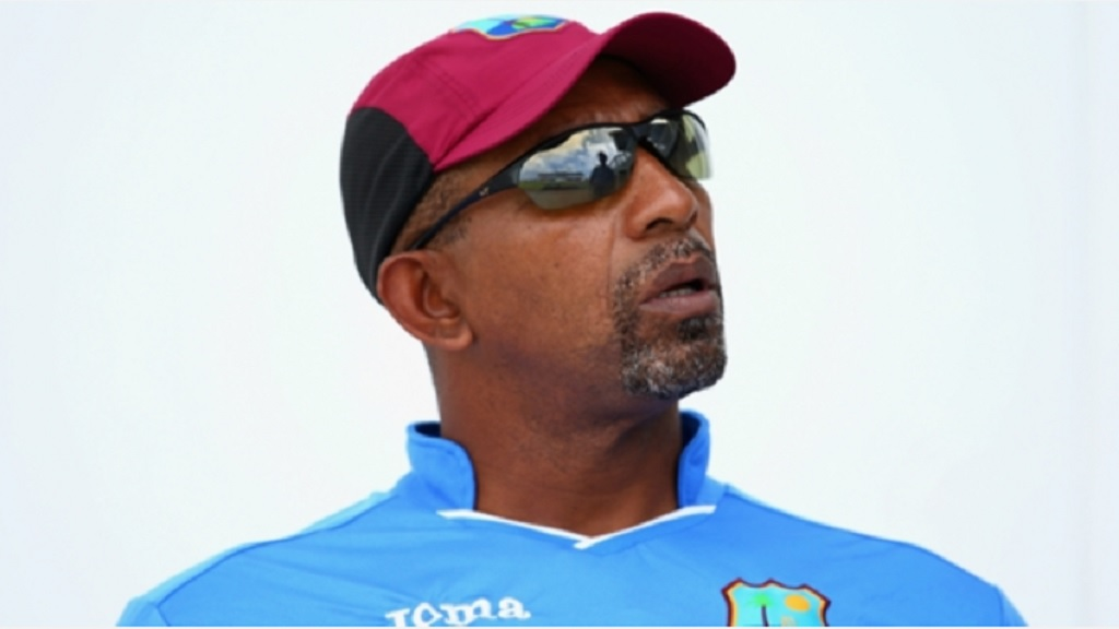West Indies head coach Phil Simmons.