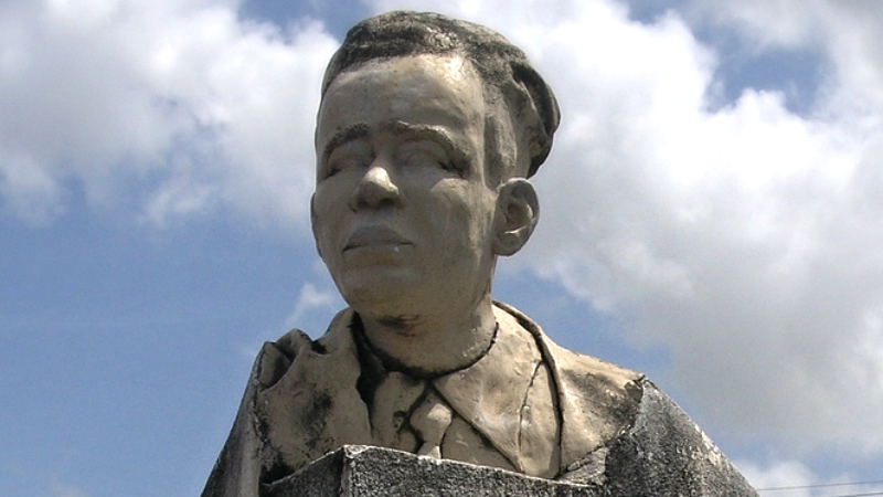 Clement Payne bust (File Photo)
