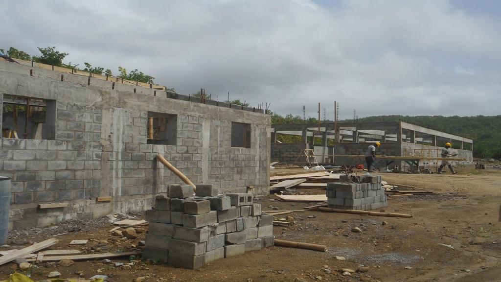 Volet Livestock Station under construction