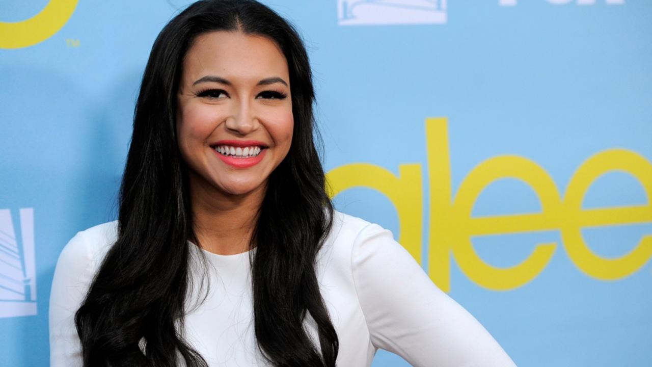 "Naya Rivera, a cast member in the television series ""Glee,"" poses at a screening and Q&A for the show, at the Academy of Television Arts and Sciences in Los Angeles on May 1, 2012.  (AP Photo/Chris Pizzello, File)"