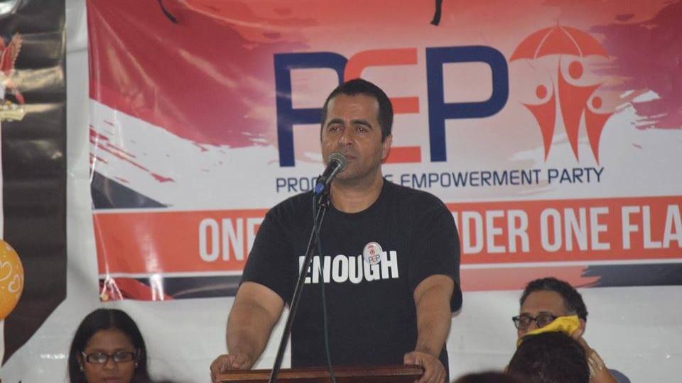 Progressive Empowerment Party (PEP), Political Leader Phillip Edward Alexander