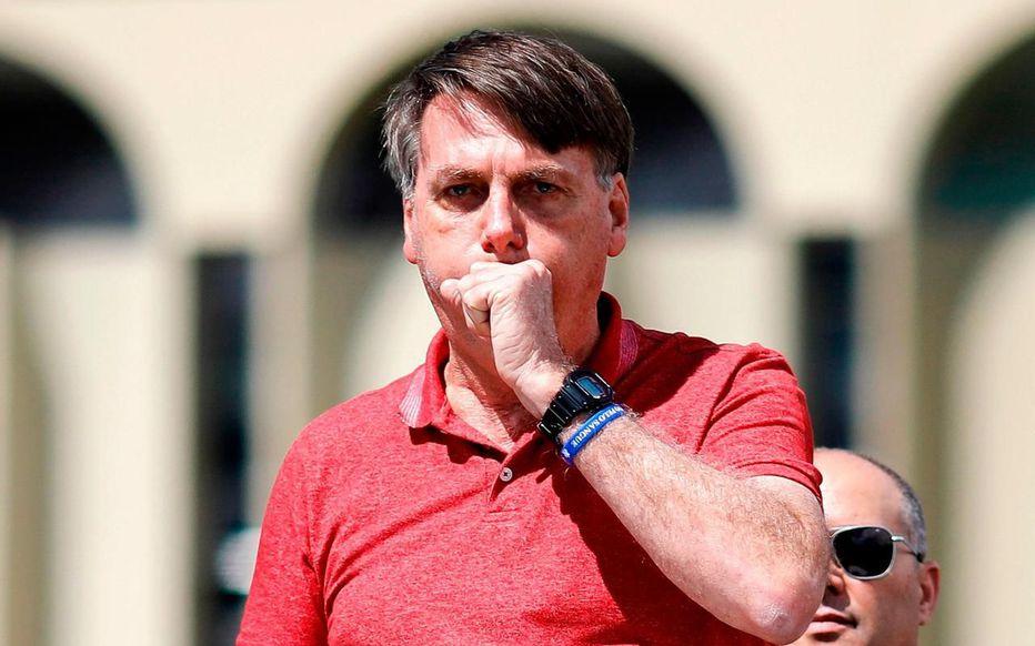 Depuis le début de l'épidémie, Jair Bolsonaro n'a cessé d'en minimiser la gravité. (ARCHIVE) AFP/Sergio LIMA