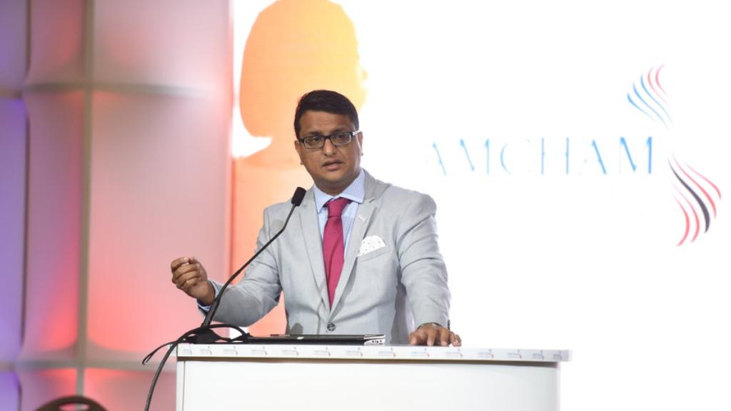 AMCHAM T&T CEO Nirad Tewarie.