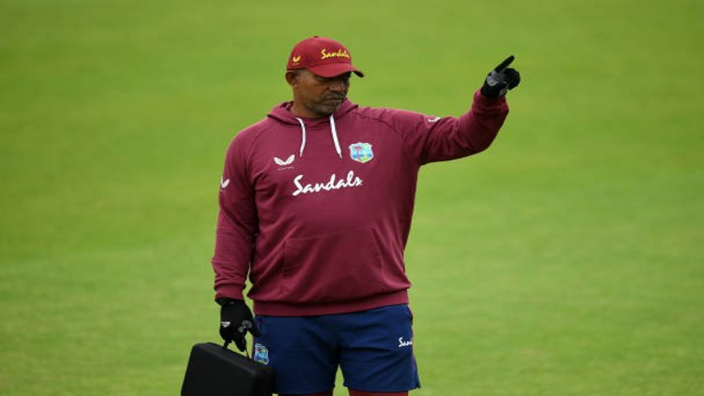 West Indies coach Phil Simmons.