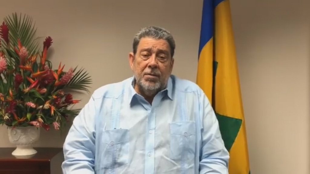 St Vincent and the Grenadines Prime Minister and CARICOM Chairman Dr Ralph Gonsalves.