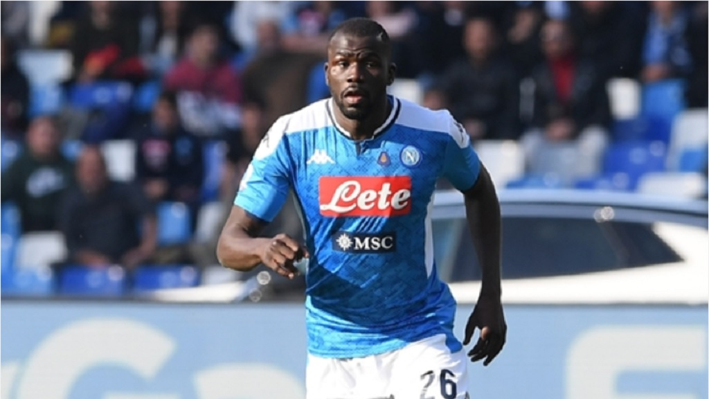 Napoli defender Kalidou Koulibaly.