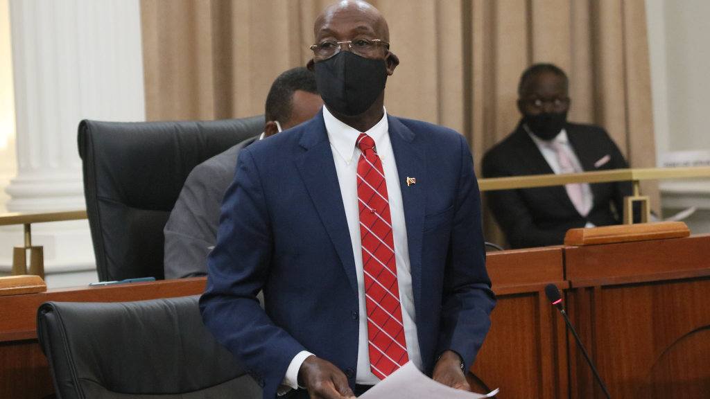 Prime Minister Dr Keith Rowley (Photo courtesy the Parliament of Trinidad and Tobago)