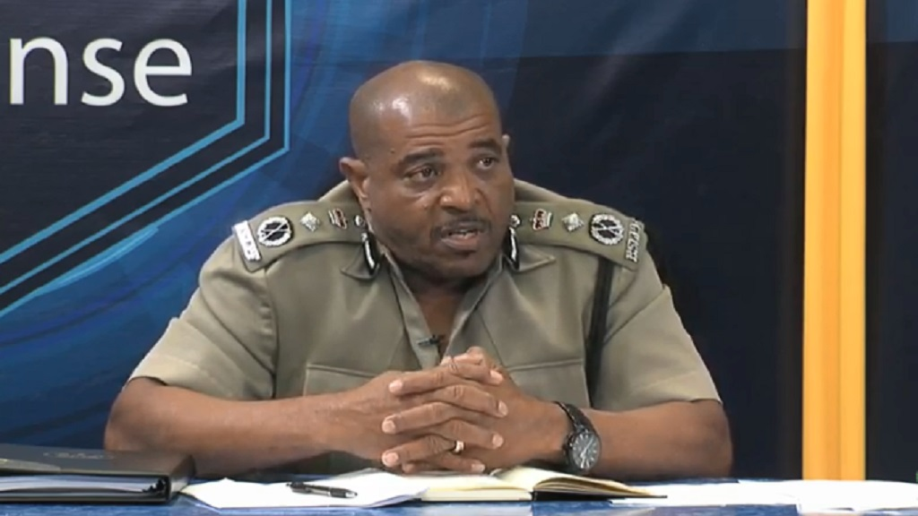 Acting Commissioner of Police Milton Desir