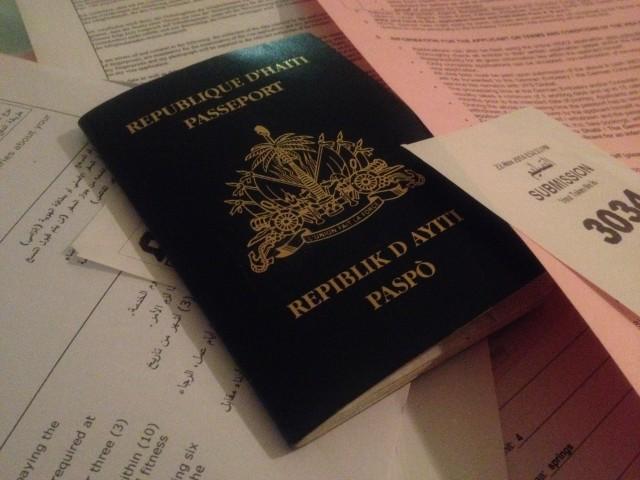 Le passeport haïtien