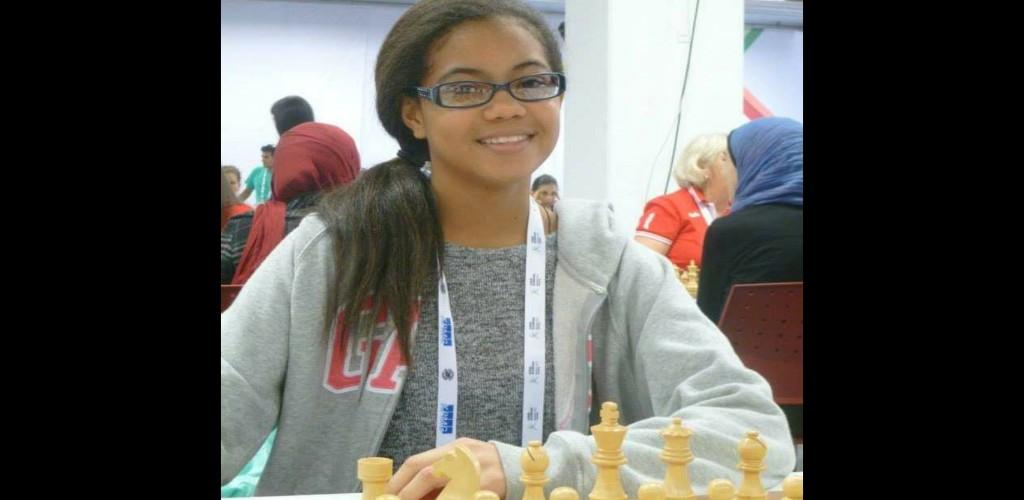 Pictured: Former chess champion, Della-Marie Walcott
