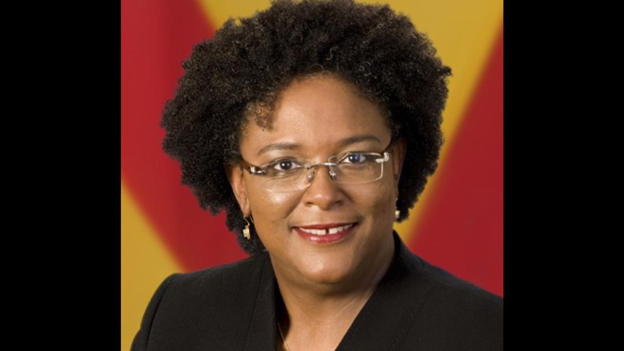 Outgoing CARICOM Chair, Prime Minister Mia Mottley