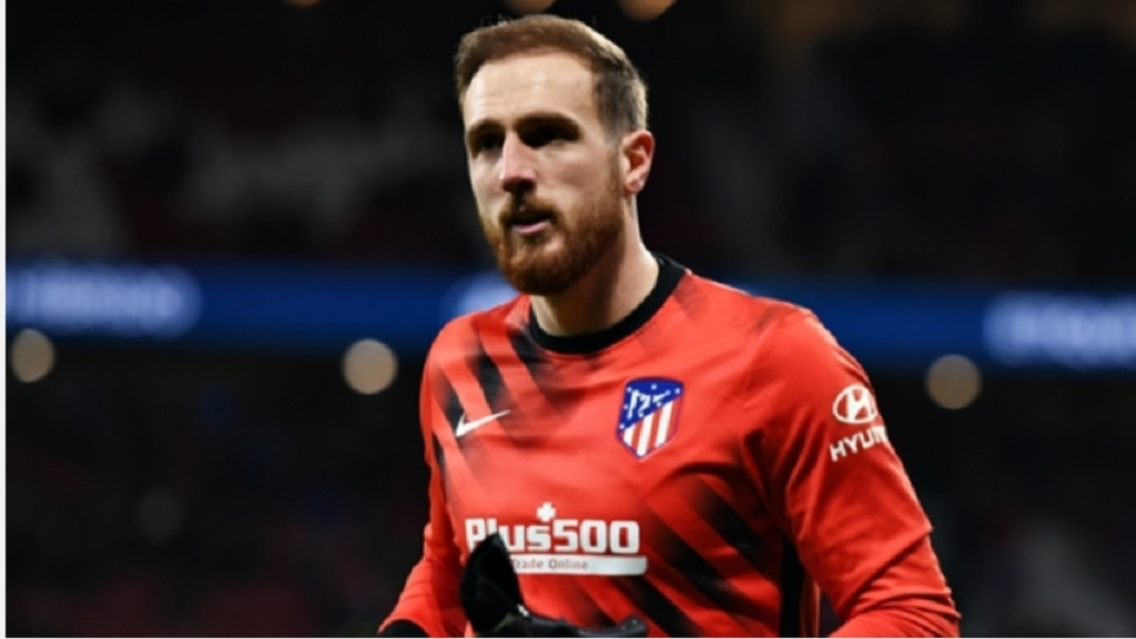 Atletico Madrid goalkeeper Jan Oblak.