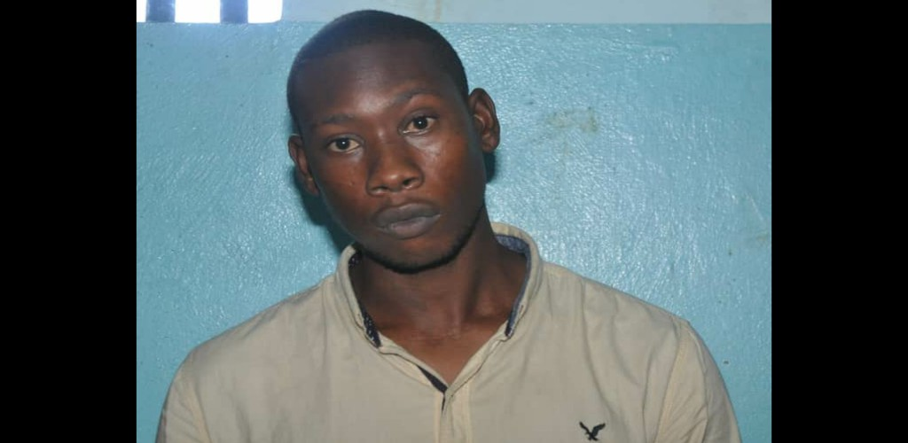 Pictured: Mudele Hakeem Williams (Photo provided by the Trinidad and Tobago Police Service)