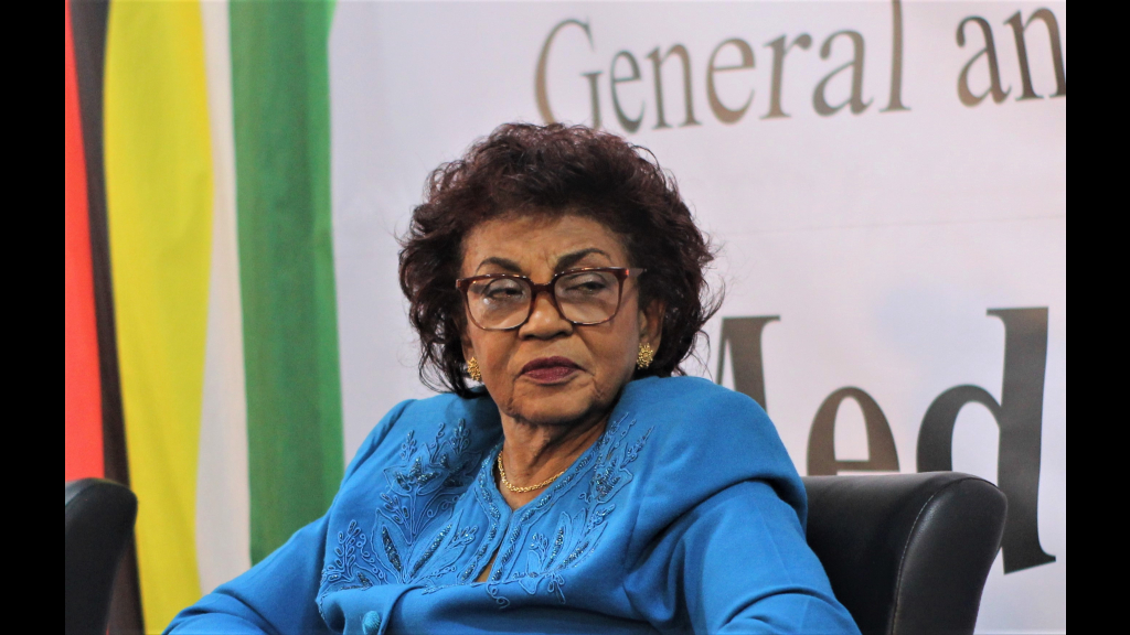 Chairman of the Guyana Elections Commission (GECOM) Claudette Singh.
