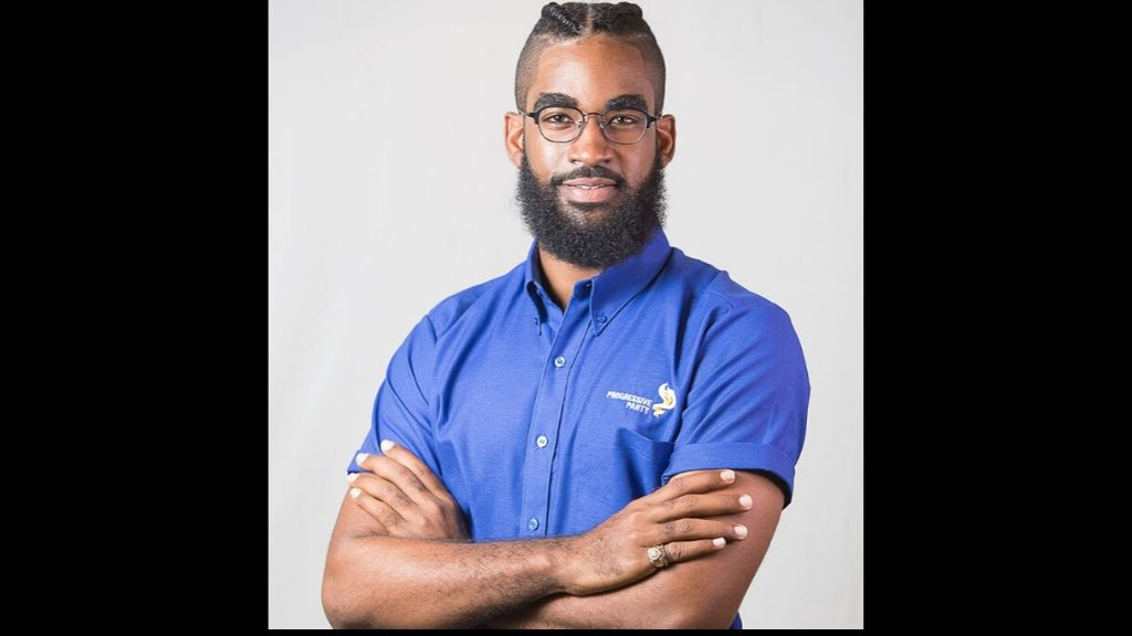 Pictured: Nikoli Edwards, prospective candidate for San Fernando West. Photo courtesy Progressive Party.