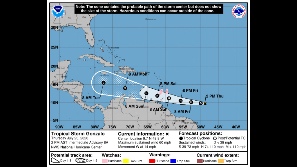 Photo: NOAA NWS National Hurricane Center