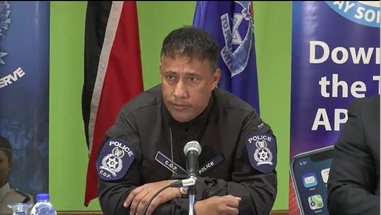 Pictured: Police Commissioner Gary Griffith.