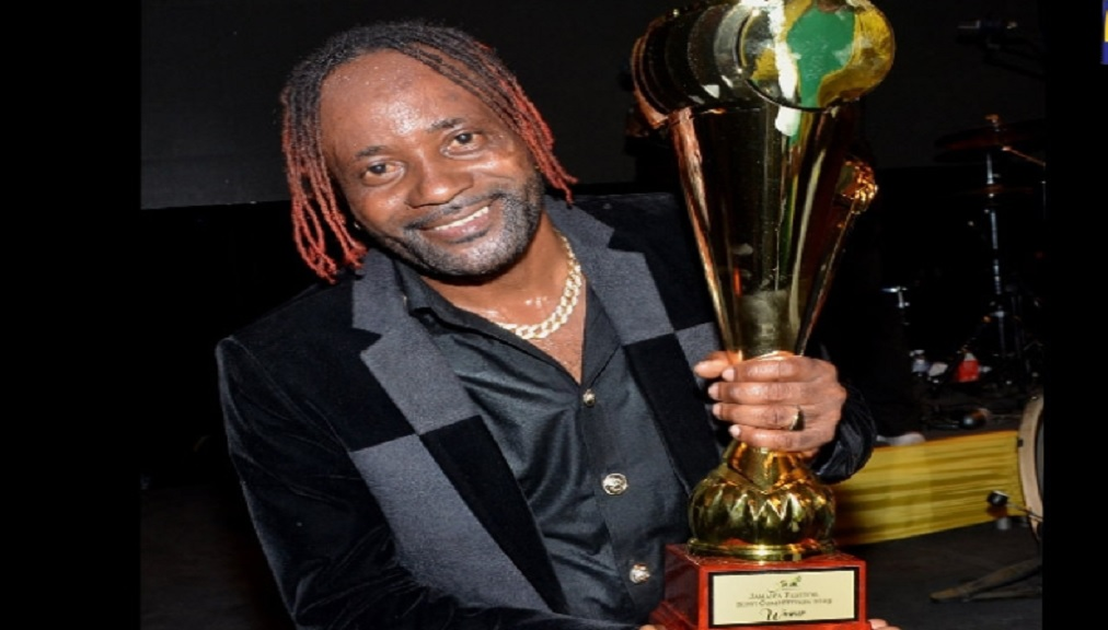 "Winner of the 2019 Jamaica Cultural Development Commission (JCDC) Jamaica Festival Song Competition, Raldene ""Loaded Eagle"" Dyer."